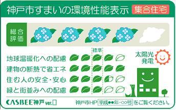 神戸市すまいの環境性能表示(集合住宅)