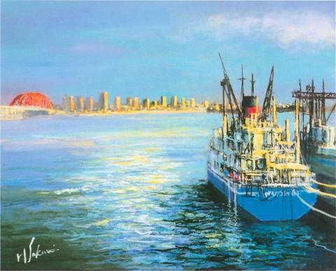 神戸海洋博物館 桜井 陽彦 画伯 「海・船・港」の水彩画作品展 開催!神戸海洋博物館 桜井 陽彦 画伯 「海・船・港」の水彩画作品展 開催!