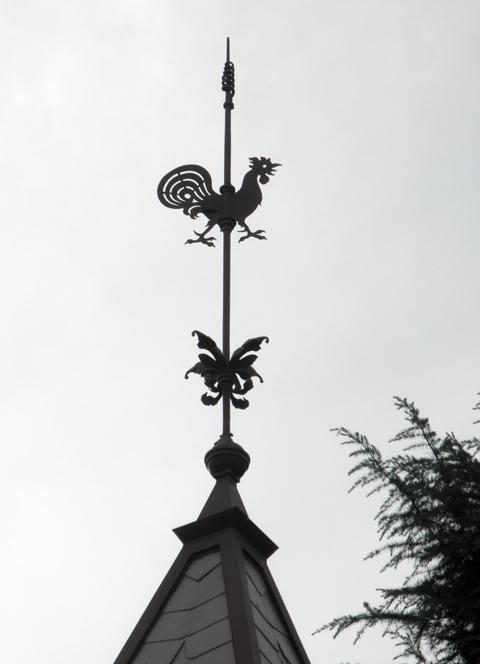 神戸市:旧トーマス住宅 風見鶏...