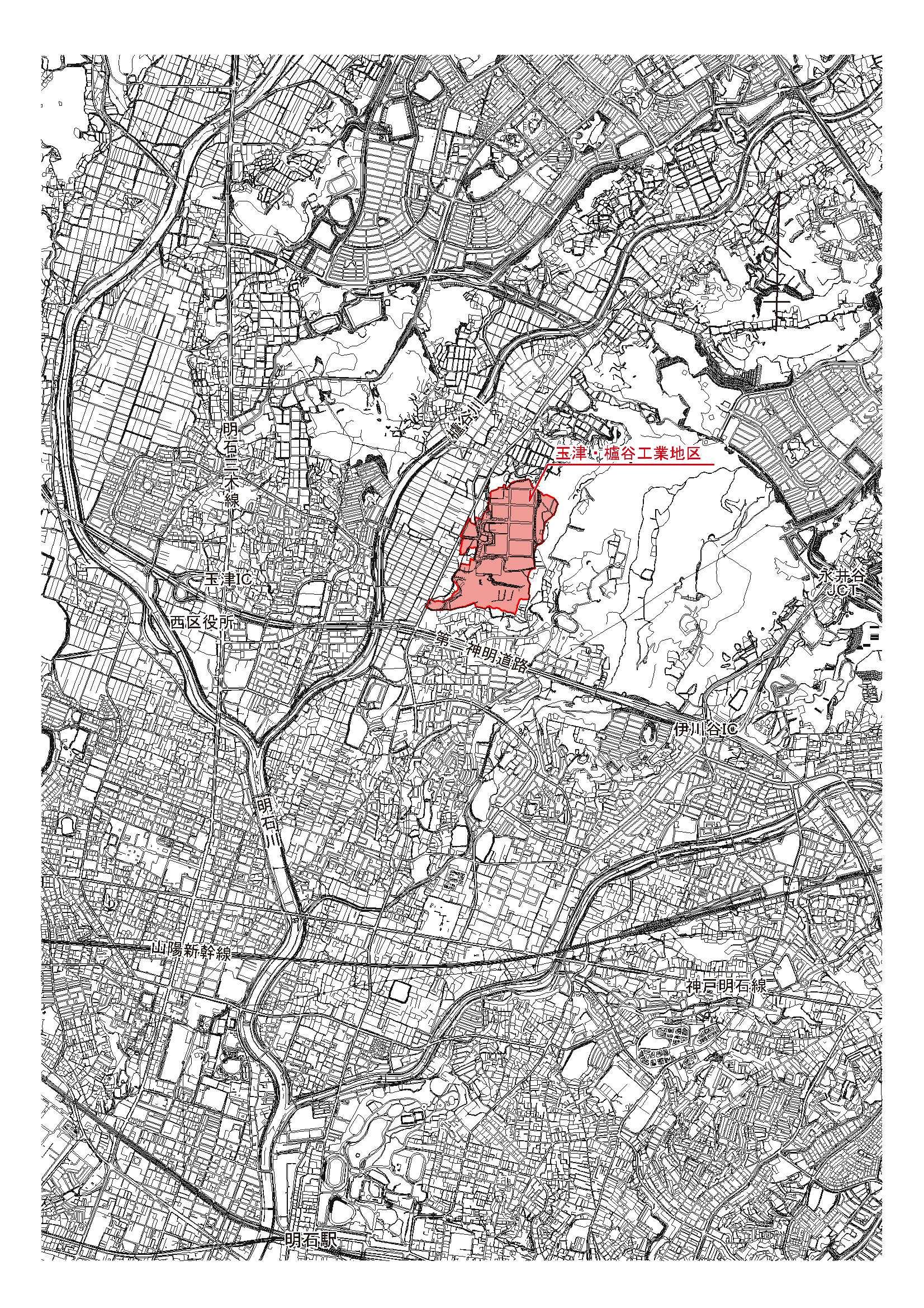 神戸市:玉津・櫨谷工業地区 地区計画