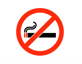 No smoking zones