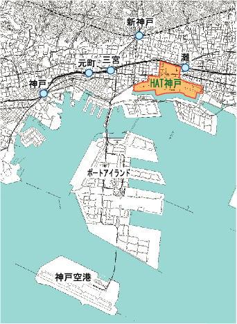 東部新都心の整備計画