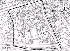 大石南町まちづくり協定区域図