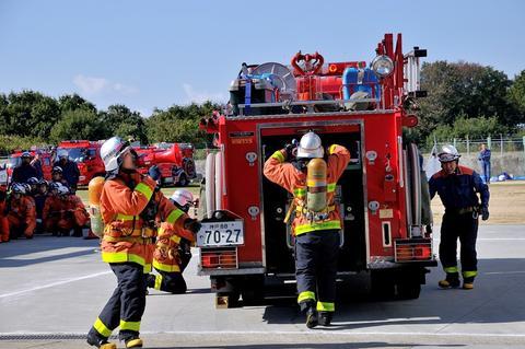 神戸市:消防総合錬成会
