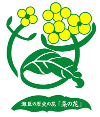 "Historical flower of Nada ward ""Nadahama (rape blossoms)"""